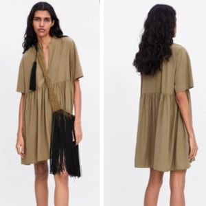 Zara Join Life tunic top blouse dress